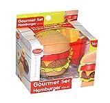 GOWI 456-20 Gourmet Set Hamburger, Lebensmittel zum Spielen