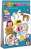 Schmidt Spiele 46116 Bibi und Tina Jixelz, Bibi & Tina, 1500 Teile, 5 Motive, Kinder-Bastelsets, Kinderpuzzle