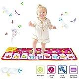 PROACC Klavier Playmat, Kinder Klaviertastatur Musik Playmat Spielzeug, große Größe (39 * 14 Zoll) lustige Tanzmatte für Babys Kleinkind Jungen und Mädchen Geschenk