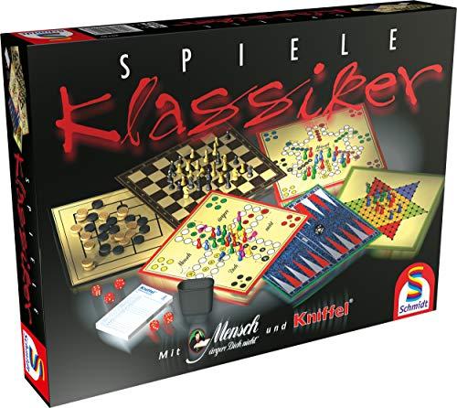 Spiele Klassiker Spielesammlung von Schmidt Spiele