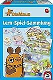 Schmidt Spiele 40478 - Die Maus, Lern-Spiel-Sammlung