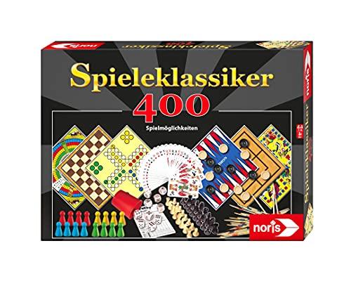Noris Klassiker Spielesammlung mit 400 Spielemöglichkeiten