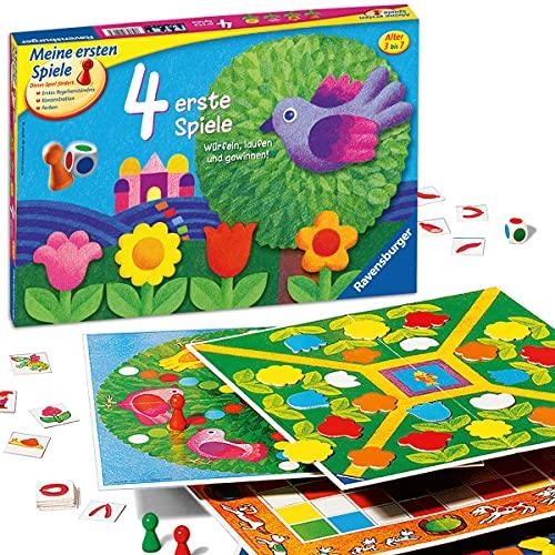 Spielesammlung von Ravensburger für Kinder ab 3 Jahre