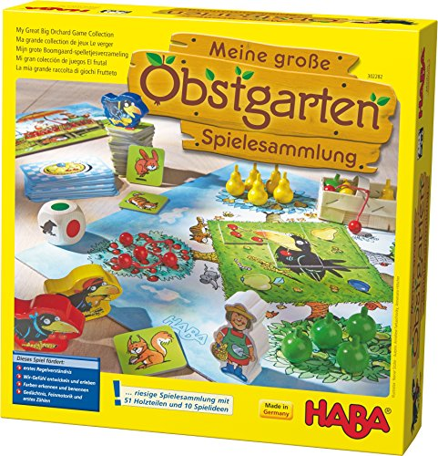 Haba Obstgarten Spielesammlung für Kinder ab 3 Jahren