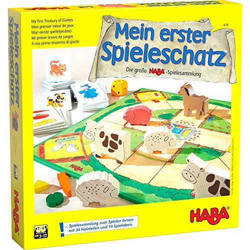 Mein erster Spieleschatz: Spielesammlung für Kinder ab 3 Jahre
