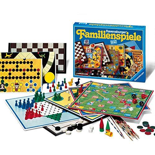 Spielesammlung von Ravensburger für die ganze Familie