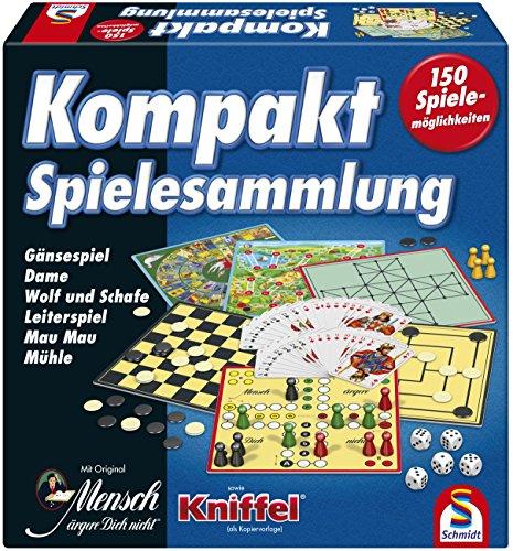 Kompakte Spielesammlung von Schmidt Spiele