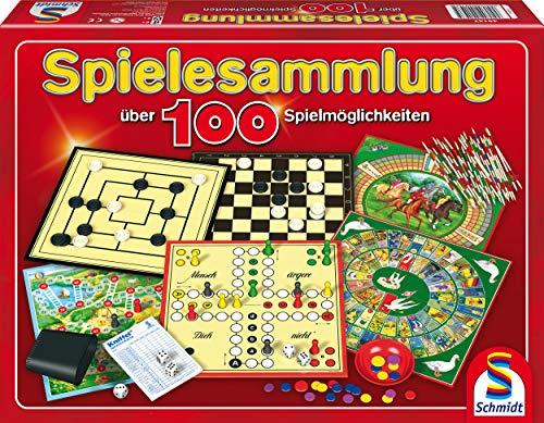 Schmidt Spielesammlung mit 100 Spielmöglichkeiten